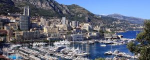 formula one monaco grand prix by motorcycle