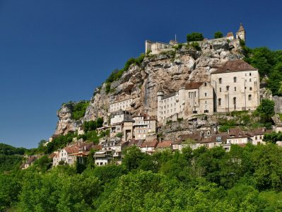 Rocamadour-France motorcycle tour